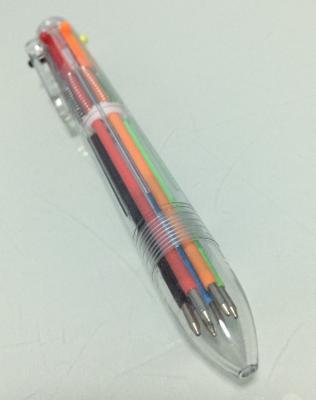 ปากกาลูกลื่น 6 สี ในแท่งเดียว - B3074