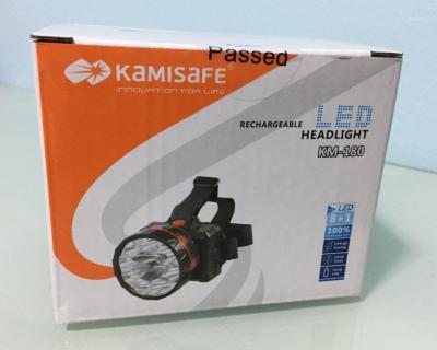 Kamisafe ไฟคาดหัวรุ่น KM-180 - B3111