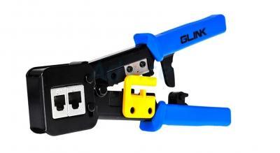 คีมเข้าหัวสาย Lan/สายโทรศัพท์ GLINK (GLT002) - B1164