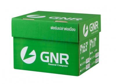 กระดาษต่อเนื่องเคมี เจนเนอรัล ไม่มีเส้น 9x11 (5ชั้น) 5 สี 500ชุด/กล่อง - B2169