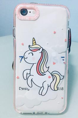 case โทรศัพท์ - iPhone 7 - ม้าคึกคักน่ารักจัง - B3090