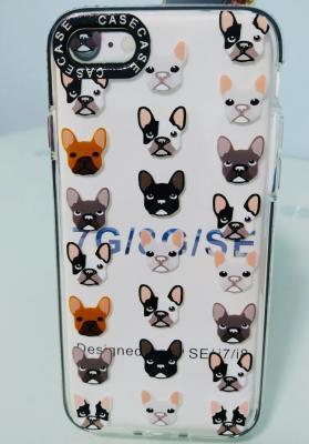 case โทรศัพท์ - iPhone 7 - น้องหมาหลายหน้า - B3091