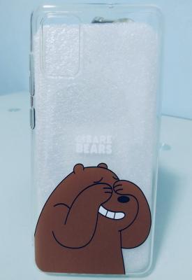 case โทรศัพท์ - Samsung A71 - ก็หมีอายนี่หน่า - B3098