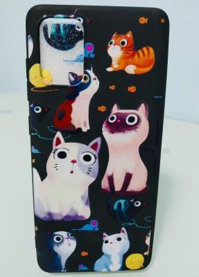 case โทรศัพท์ - Samsung A71 - แมวน้อยคอยรัก - B3099
