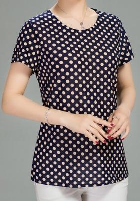 เสื้อแฟชั่นสตรี วัยกลางคน - A268