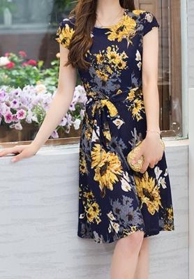 Dress ชุดทำงาน ชุดออกงาน - D403