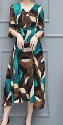 Dress ชุดทำงาน ชุดออกงาน - D516
