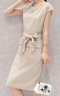 Dress ชุดทำงาน ชุดออกงาน - D518