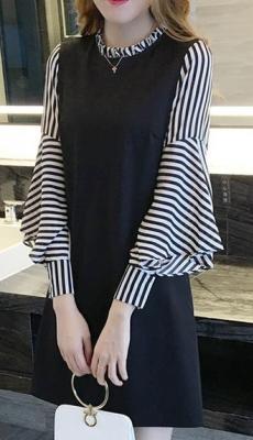 Dress ชุดทำงาน ชุดออกงาน - D523
