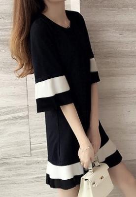 Dress ชุดทำงาน ชุดออกงาน - D528