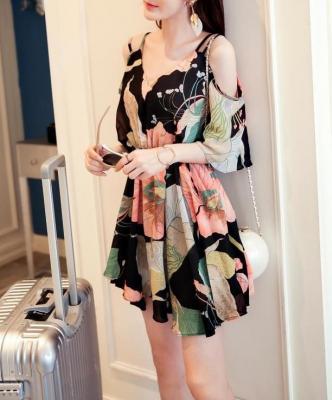 Dress ชุดทำงาน ชุดออกงาน - D529