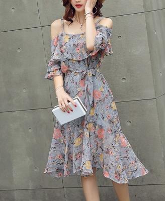Dress ชุดทำงาน ชุดออกงาน - D530