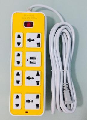 ปลั๊กไฟ 4-5 ช่อง 2-3 USB 5 เมตร B4360