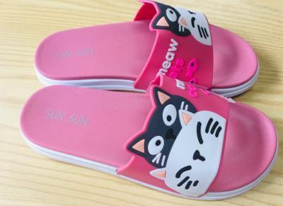 รองเท้ายาง แมวเหมียว คละสี KR-91